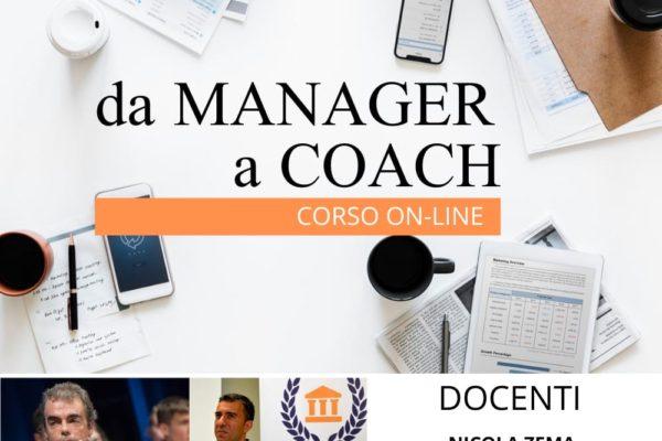 "Corso Online: ""Da Manager a Coach"""